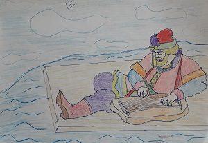 Сороколет Антона рисунок